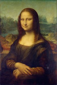 Mona Lisa is painted this way.